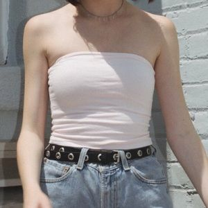 Baby pink Jenny tube top
